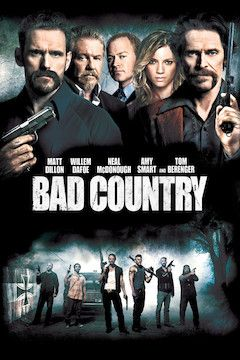 Bad Country movie poster.