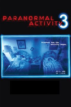 Poster for the movie Paranormal Activity 3