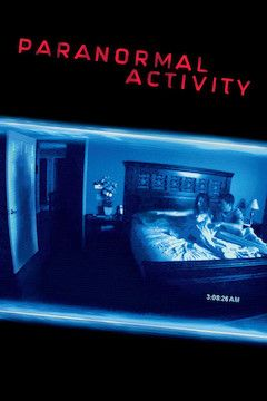 Poster for the movie Paranormal Activity