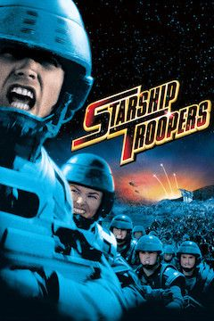 Starship Troopers movie poster.