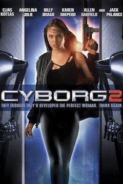 Cyborg 2 movie poster.