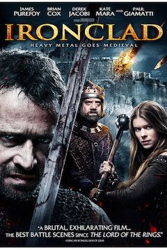 Ironclad movie poster.