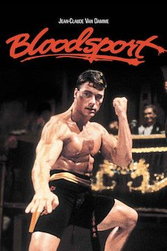 Bloodsport movie poster.