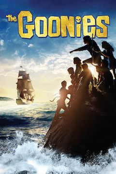 The Goonies movie poster.