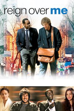 Reign Over Me movie poster.