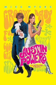 Austin Powers: International Man of Mystery movie poster.