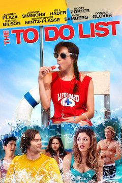 The To-Do List movie poster.