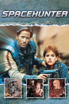 Poster for the movie Spacehunter: Adventures in the Forbidden Zone