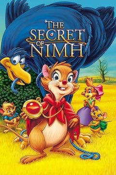 The Secret of N.I.M.H. movie poster.