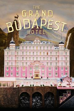 The Grand Budapest Hotel movie poster.