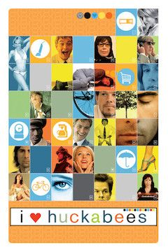 I Heart Huckabees movie poster.