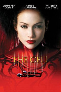 Poster for the movie The Cell