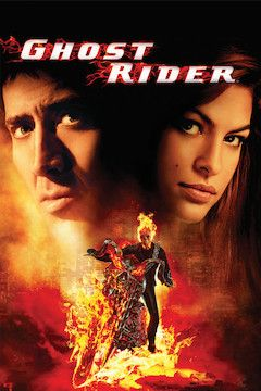 Ghost Rider movie poster.