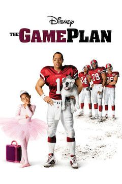 The Game Plan movie poster.