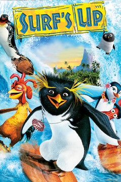 Surf's Up movie poster.