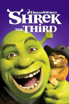 Poster for the movie Shrek the Third