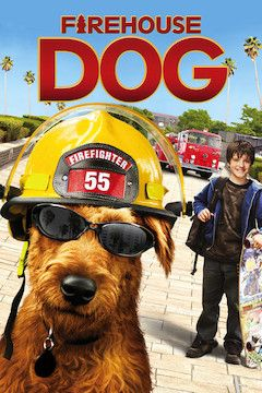 Firehouse Dog movie poster.