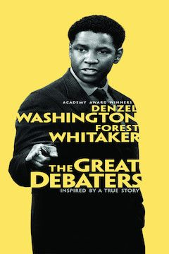 The Great Debaters movie poster.