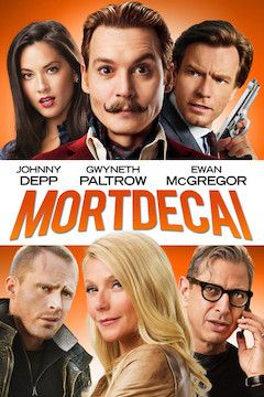 Mortdecai movie poster.