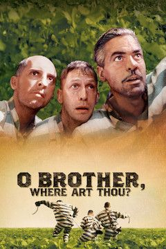 O Brother, Where Art Thou? movie poster.