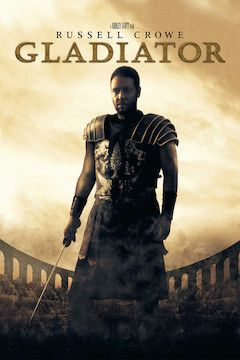 Gladiator movie poster.