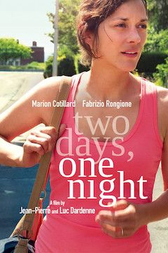 Poster for the movie Two Days, One Night