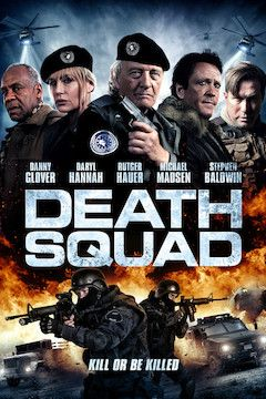 Death Squad movie poster.