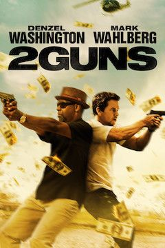 2 Guns movie poster.