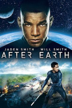 After Earth movie poster.