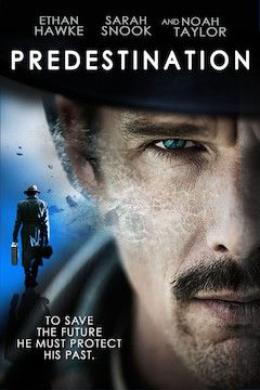 Predestination movie poster.