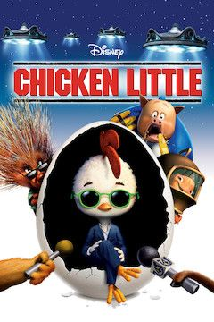 Chicken Little movie poster.