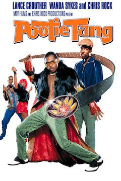 Pootie Tang movie poster.