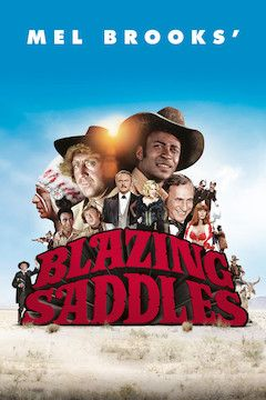 Poster for the movie Blazing Saddles