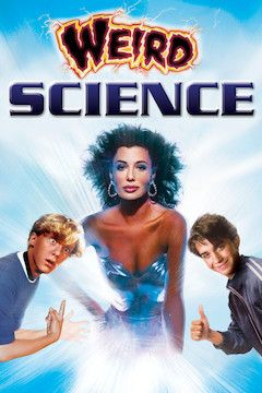 Weird Science movie poster.