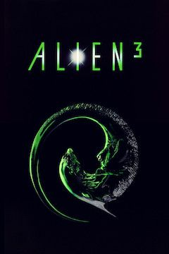 Alien III movie poster.