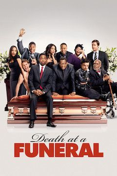 Death at a Funeral movie poster.