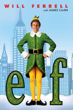 Elf movie poster.