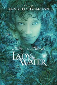 Lady in the Water movie poster.
