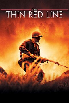 The Thin Red Line movie poster.
