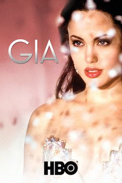 Gia: Story of a Model movie poster.