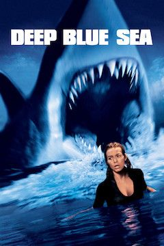 Deep Blue Sea movie poster.