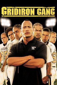 Gridiron Gang movie poster.