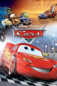 Cars movie poster.