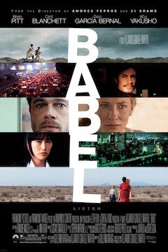 Babel movie poster.