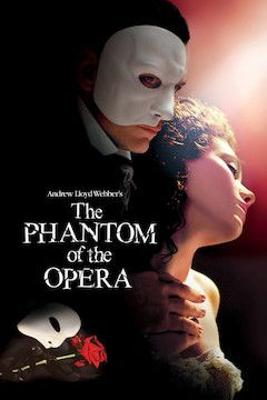The Phantom of the Opera movie poster.