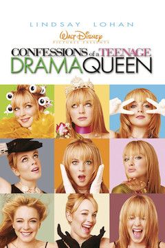 Confessions of a Teenage Drama Queen movie poster.
