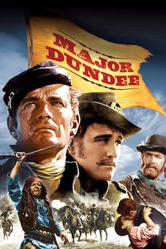 Major Dundee movie poster.