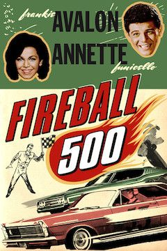 Fireball 500 movie poster.