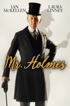 Mr. Holmes movie poster.