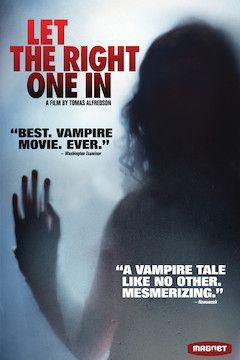 Poster for the movie Let the Right One In